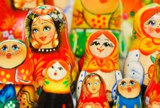 Free Russian Toy Matrioska Stock Image - 17822061
