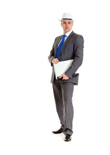 Free Young Businessman Royalty Free Stock Photos - 17822248