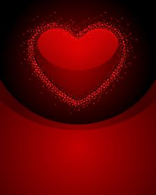 Free Transparent Red Heart Stock Photos - 17822383