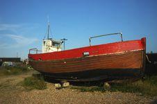 Free Old Fishermen Boat 2 Royalty Free Stock Image - 17822476