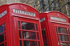 Free Phone Box Royalty Free Stock Photo - 17822545