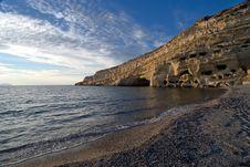 Free Matala Beach Afternoon - Crete Stock Photo - 17822640