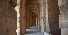 Colissem In El Djem, Tunisia 4 Stock Image