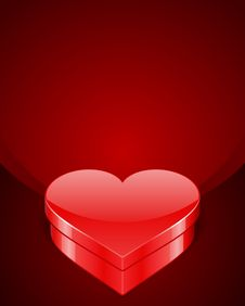Free Heart Gift Present Stock Photography - 17822682
