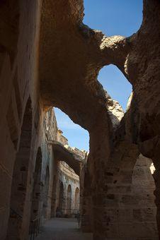 Colissem In El Djem, Tunisia 5 Stock Photos