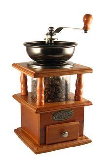 Free Coffee Grinder Royalty Free Stock Photos - 17823118