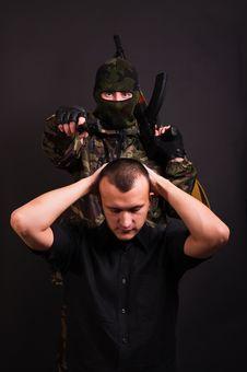 Free Terrorist Royalty Free Stock Photography - 17823607