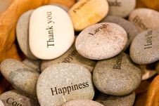 Free Pile Of Wish Stones Royalty Free Stock Photography - 17823647