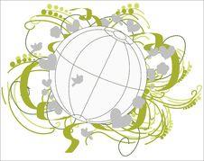 Free Fertile Environment Globe. Stock Photo - 17823750