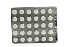Free Pills Blister Royalty Free Stock Image - 17824066