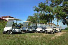 Free Golf Buggy Stock Photography - 17826092