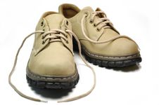 Leather Shoe Stock Photography