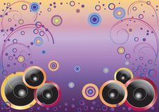 Free Abstract Background With Speakers. Stock Photography - 17826802