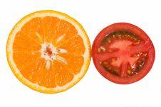 Free Orange And Tomato Stock Image - 17826851