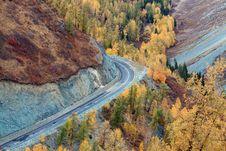 Free Colorful Autumn Of China Xinjiang Royalty Free Stock Images - 17827509