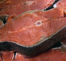 Free Salmon Steak Royalty Free Stock Photos - 17828028