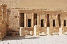 Free Temple Of Hatshepsut Royalty Free Stock Photos - 17828248