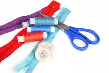 Free Sewing Accessories Stock Photography - 17828272