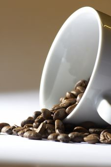 Detail Of A Coffee Cup Royalty Free Stock Photo