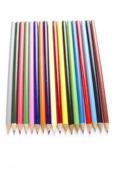 Coloring Pencils Royalty Free Stock Images