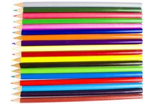 Free Multi-colored Bright Coloring Pencils Stock Photo - 17829290