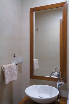 Free Bathroom Interior Stock Photos - 17829383