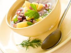 Free Vegetable Soup Stock Image - 17829551