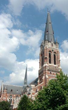 Free Church In Belgium Stock Photo - 17829580