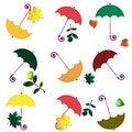 Free Colour Umbrellas Royalty Free Stock Photography - 17831397