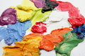 Free Mixed Paints Stock Images - 17836494