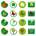 Free Stickers And Buttons Royalty Free Stock Photography - 17837617