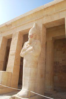Free Temple Of Hatshepsut Royalty Free Stock Photos - 17830088
