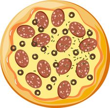 Free Pizza Royalty Free Stock Image - 17830166