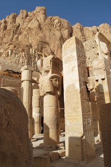 Free Temple Of Hatshepsut Royalty Free Stock Photos - 17830328