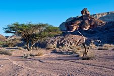 Free View On Arava Desert, Israel Stock Photography - 17830842