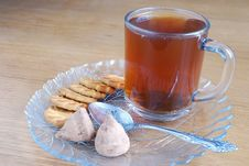 Tea, Cookies And Sweets Stock Image