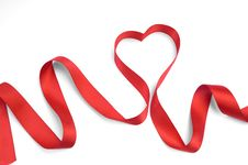 Free Red Ribbon Bow Stock Photography - 17831672