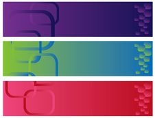 Free Abstract Color Banner Illustration Stock Photography - 17831782
