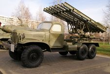 Free Katyusha Multiple Rocket Launcher BM-13 Stock Image - 17832531