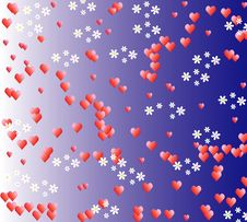 Free Background Of Love Royalty Free Stock Image - 17833316
