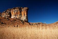 Free Sandstone Cliff Royalty Free Stock Photo - 17833845
