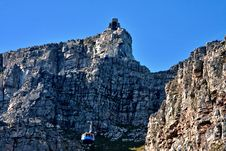 Free Table Mountain Cable Way Stock Images - 17834054
