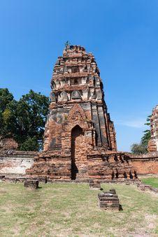 Free Old Pagoda Royalty Free Stock Photos - 17834488