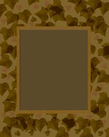 Free Dark Camouflage Frame Stock Photography - 17835182