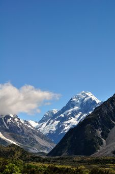 Free Mt.cook Royalty Free Stock Photography - 17835287