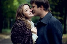 Free A Young Tender Couple Royalty Free Stock Photography - 17835867
