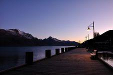 Evening Wharf Royalty Free Stock Image