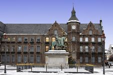 Free Düsseldorf Town Hall Stock Photography - 17836042