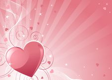 Free Valentines Day Background Royalty Free Stock Image - 17836346