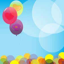 Free Balloons Royalty Free Stock Photography - 17836497